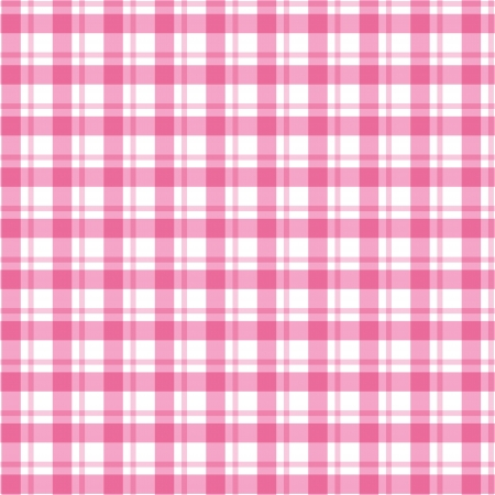 Textile pink and white pattern Vector