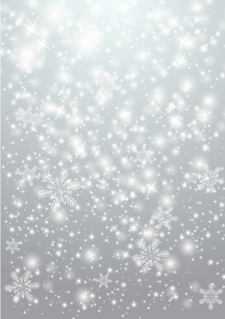 twinkles: Shiny background with snowflakes