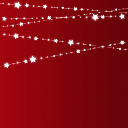 place for text: Starry Christmas background with place for text Illustration