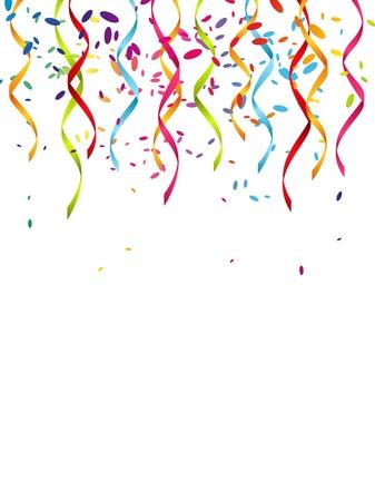 празднования: Партии фон с местом для текста