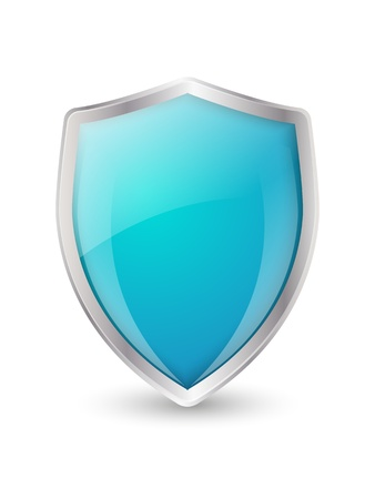 safeguard: Shield icon on white background
