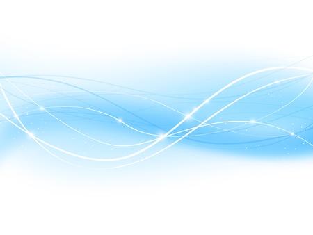 à blue: Fondo azul abstracto para su diseño