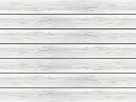 wood planks: White wooden background -  illustration Illustration
