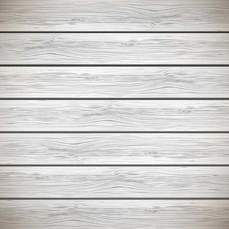 planche de bois: Fond blanc bois - illustration Illustration