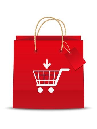 web commerce: Aggiungi al carrello shoping icona