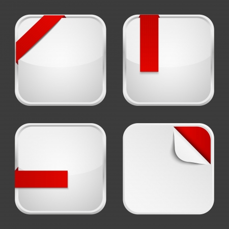 Set of apps icons for Your design photo