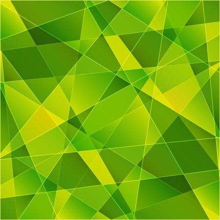 Fond vert abstrait pour votre conception