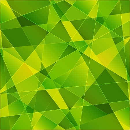 Green abstract background for Your design photo