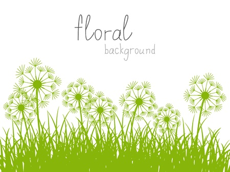 Summer background with place for text Vector