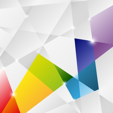 Triangle background for Your design Stock Vector - 19930117