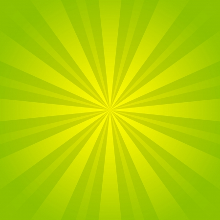 Green rays background for Your design photo