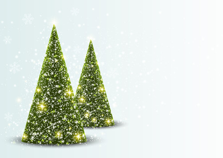 Christmas card with place for text