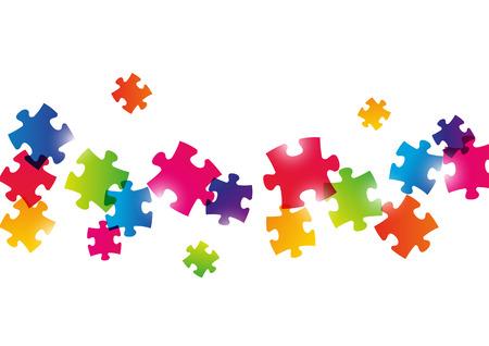 Color puzzle Hintergrund für Ihr Design