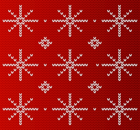 Knitted background for Your design Vector