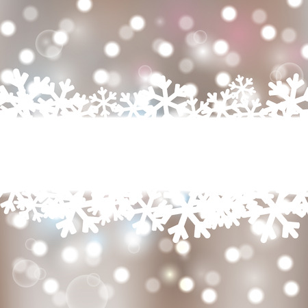 Christmas background with lights elements Stock Vector - 23711944