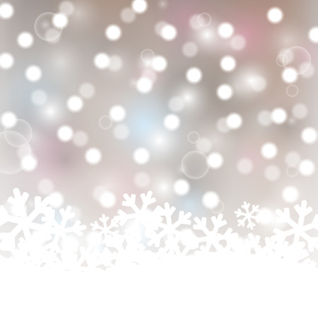 Christmas background with lights elements Vector