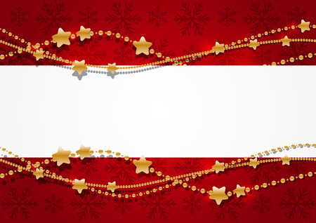 Christmas background with place for text Ilustrace