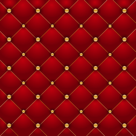 red couch: Luxury red background illustration  Illustration
