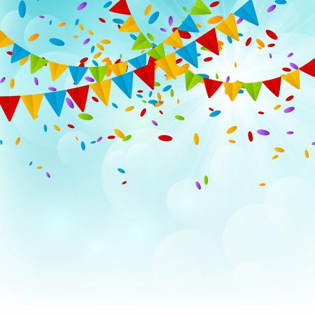 Party Hintergrund für Ihr Design Standard-Bild - 28293817