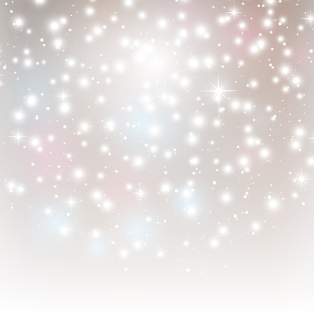 Abstract background with shiny lights