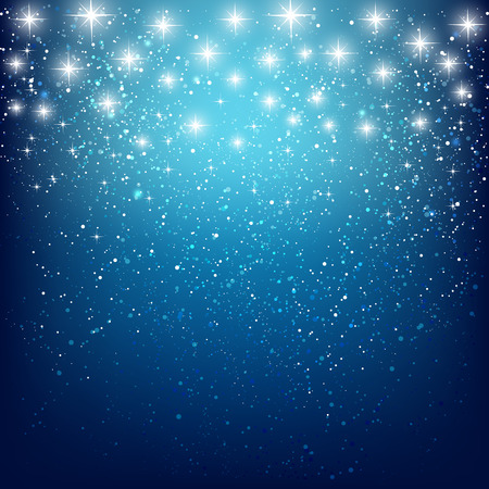 new year celebration: Abstract starry background for Your design