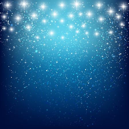 Abstracte sterrenhemel achtergrond voor uw ontwerp Stock Illustratie