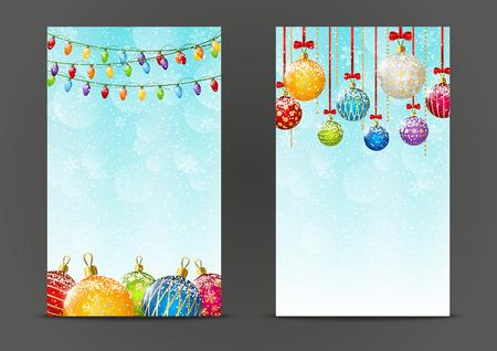christmas bulbs: Christmas banners 240 x 400 size