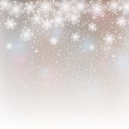 Abstracte sneeuwvlok achtergrond voor uw ontwerp Stock Illustratie