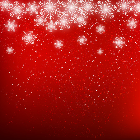 holiday celebrations: Abstract snowflake background for Your design Illustration