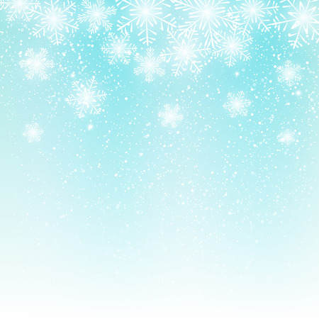 Abstract snowflake background for Your design 矢量图像