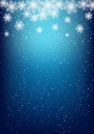 Résumé de fond de flocon de neige pour votre conception