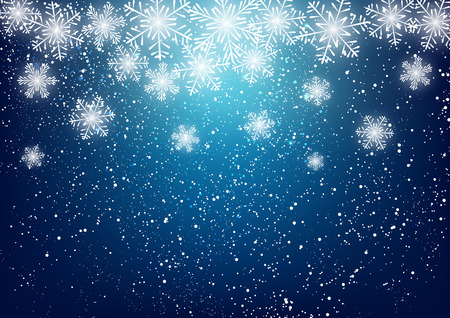 Abstract snowflake background for Your design Çizim