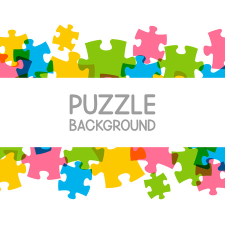 your text: Puzzle background with place for Your text