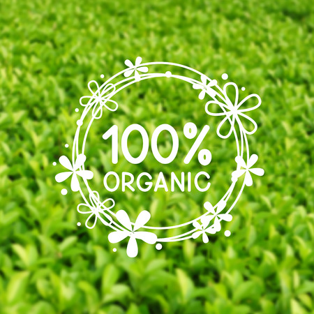 bush mesh: Green natural mesh background for Your design