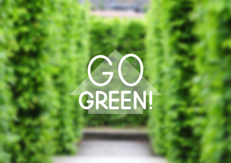 bush mesh: Green natural background for Your design