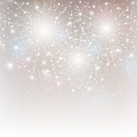 Shiny fireworks for Your design Vector