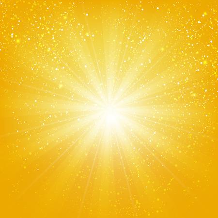 Shiny light background for Your design  イラスト・ベクター素材