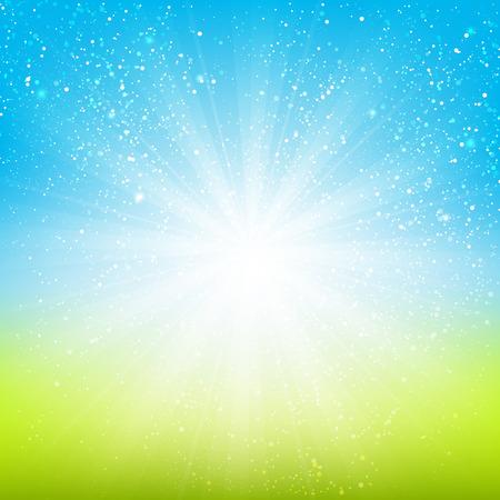 verde: Fondo claro brillante para su diseño
