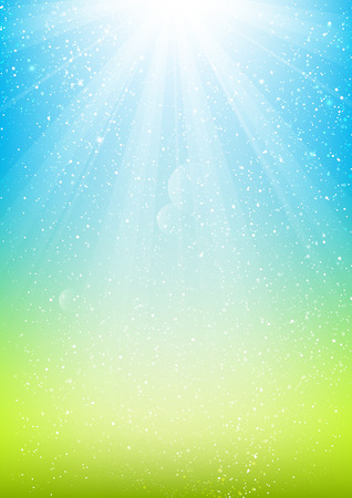 Shiny light background for Your design Illustration