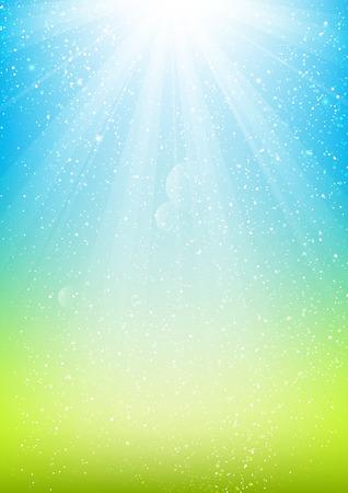 himmel hintergrund: Shiny Licht Hintergrund für Ihr Design Illustration