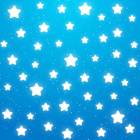 nights: Nights background with shiny stars