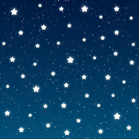 Starry night background for Your design Vector
