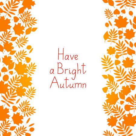 autumn background: Autumn background for Your design