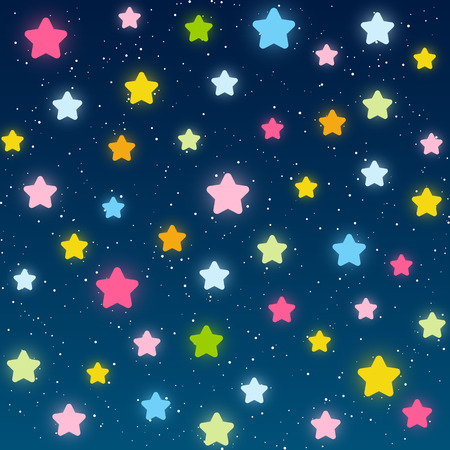 design background: Starry night background for Your design