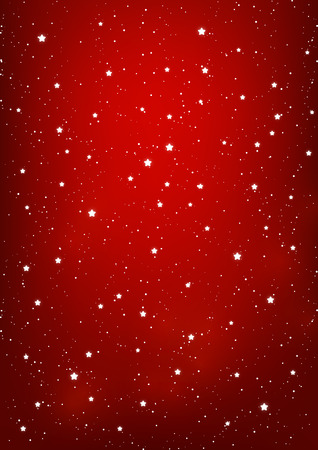 Shiny stars on red background 免版税图像 - 45053533