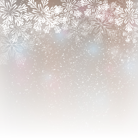 Snowflake background for Your design