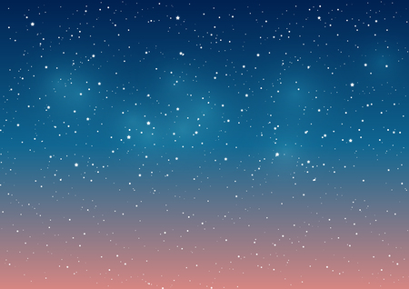 Starry sky background for Your design Stock Illustratie