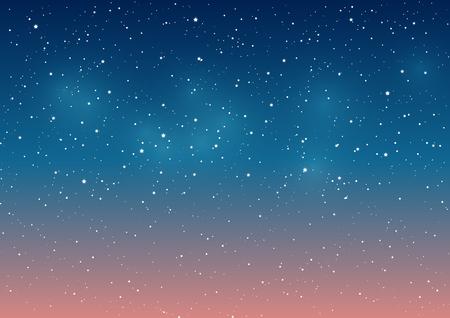Starry sky background for Your design Illustration