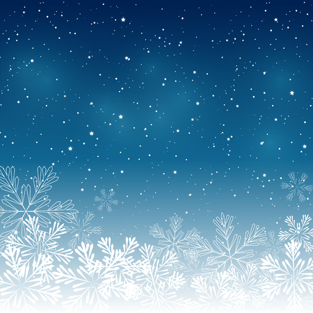 Christmas snowflakes background for Your design Reklamní fotografie - 46633806