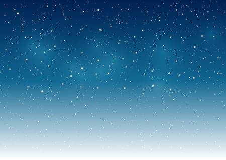 あなたのデザインの星空背景